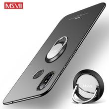 Mi Mix 3 Case msseven البنصر غطاء ل شاومي Mi Mix3 Mix2 S حالة حلقة معدنية حامل غطاء ل شاومي مزيج 3 2 2 S الهاتف حالات