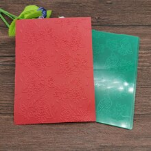 AOKEDIY 꽃과 새 DIY 플라스틱 엠보싱 폴더 DIY Scrapbooking 종이 공예/카드 장식 용품 만들기