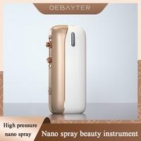 Water Oxygen Injection Machine HighPressure Nano Ionic Spray Humidifier Face Deeply Moisturize Facial Vaporizer Beauty Skin Care