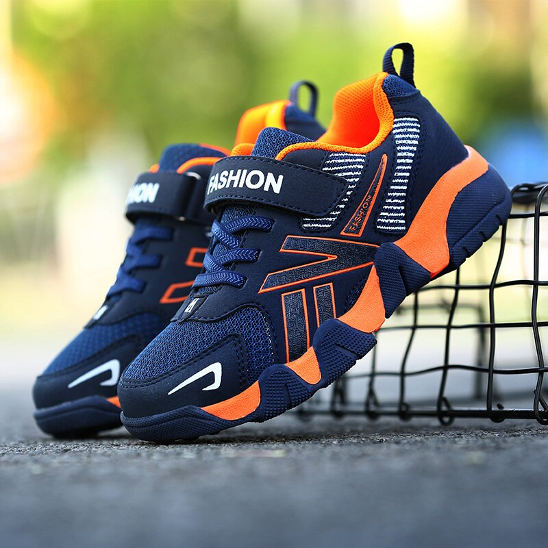 New Spring Children Casual Sneakers Running Shoes Boys Student Shoes Breathable Baby Tennis Sports L