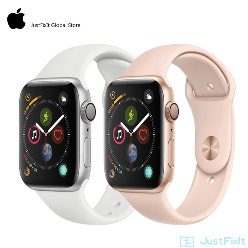 Get Apple Watch Series 4 LTE 44mm SportBand Smart Watch 2 Heart Rate Sensor ECG Fallen Detect  Activity Track Workout for iPhone