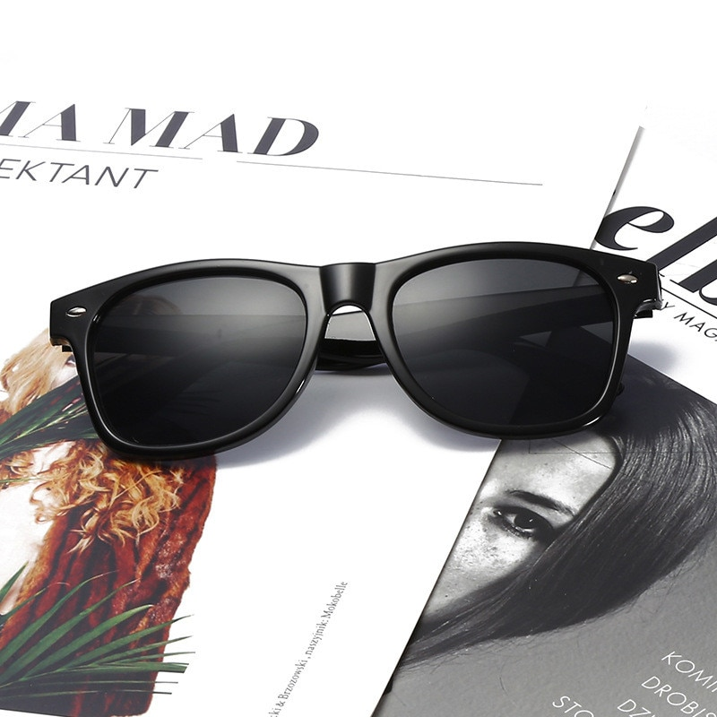 2021 поляризованные солнцезащитные очки мужские солнцезащитные очки для вождения мужские солнцезащитные очки для мужчин Ретро Дешевые Роск...