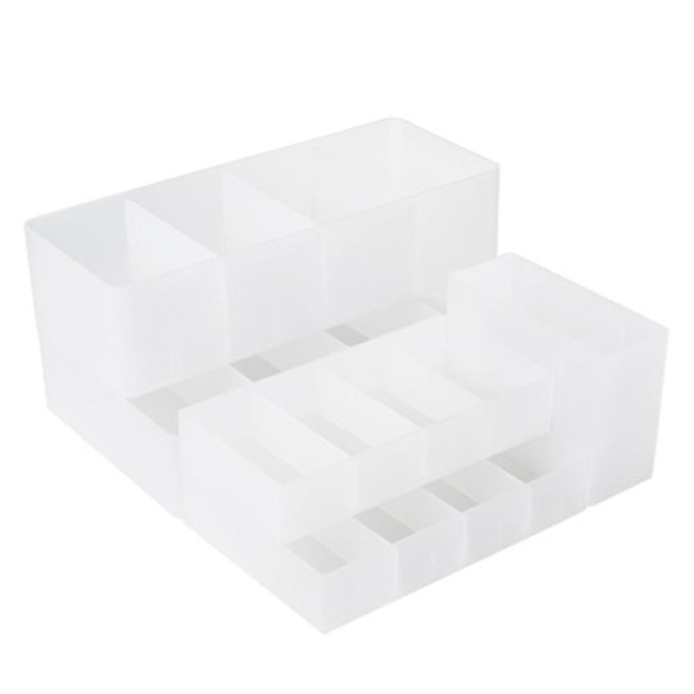 Clapboard Desk Drawer Storage Box Kitchen Bathroom Simple Separation Storage Box Sock Cosmetic P7Ding