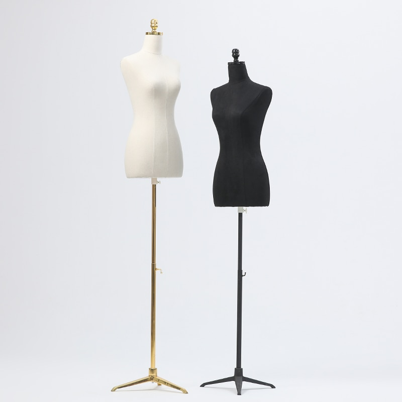 New No Arm Color Full Head Mannequin Body Stand Female Wedding Dress Sewing Diy Model,Flexible Women,Adjustable Rack 1PC D397