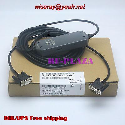 DHL/EMS 10 قطعة البرمجة كابل 6ES7901-3CB30-0XA0 ل S7-200 PLC كابل RS232 إلى RS485-A5