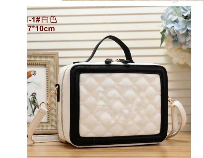 2020 new diamond bag fairy bag leather shoulder messenger chain small square bag