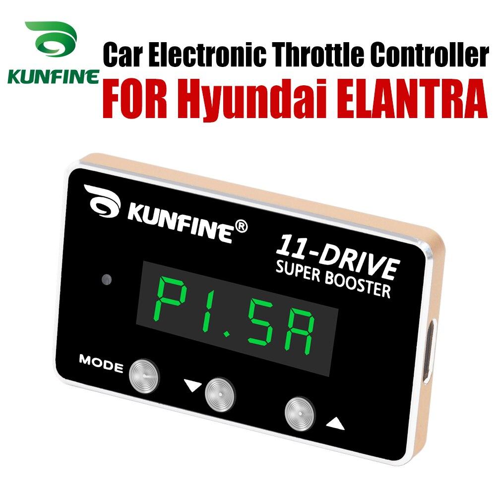 KUNFINE voiture contrôleur daccélérateur électronique accélérateur de course puissant Booster pour Hyundai ELANTRA Tuning pièces accessoire 11 Drive