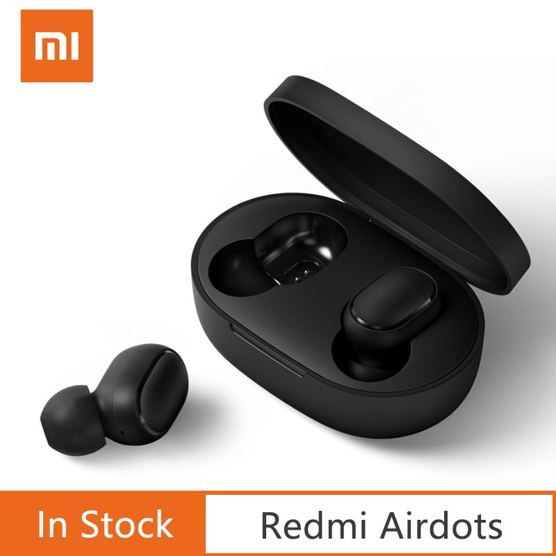 Original Xiaomi Redmi AirDots  Earbuds Wireless Bluetooth 5.0 Charging Earphone In-Ear stereo bass Ture Wireless Earbuds