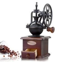 Molinillo de Café Manual Retro, molinillo de café de madera, manivela de cocina, máquina de café, regalo de decoración del hogar