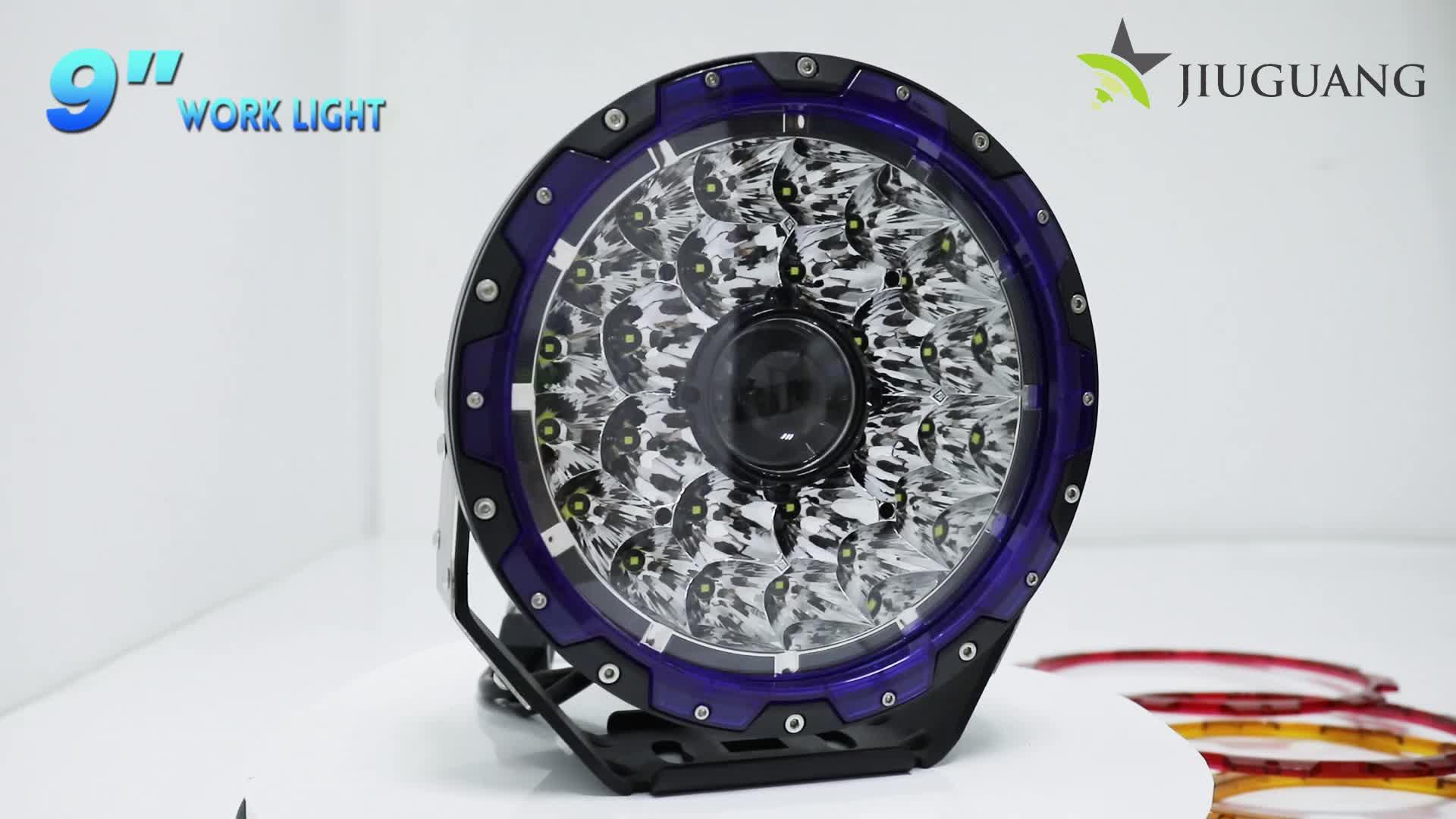 نظام ذاتي الإضاءة DRL مصباح عمل LED ، الطرق الوعرة 4x4 سيارة شاحنة 2000 متر 7 بوصة 8.5 بوصة 9 بوصة LED ضوء الليزر العمل