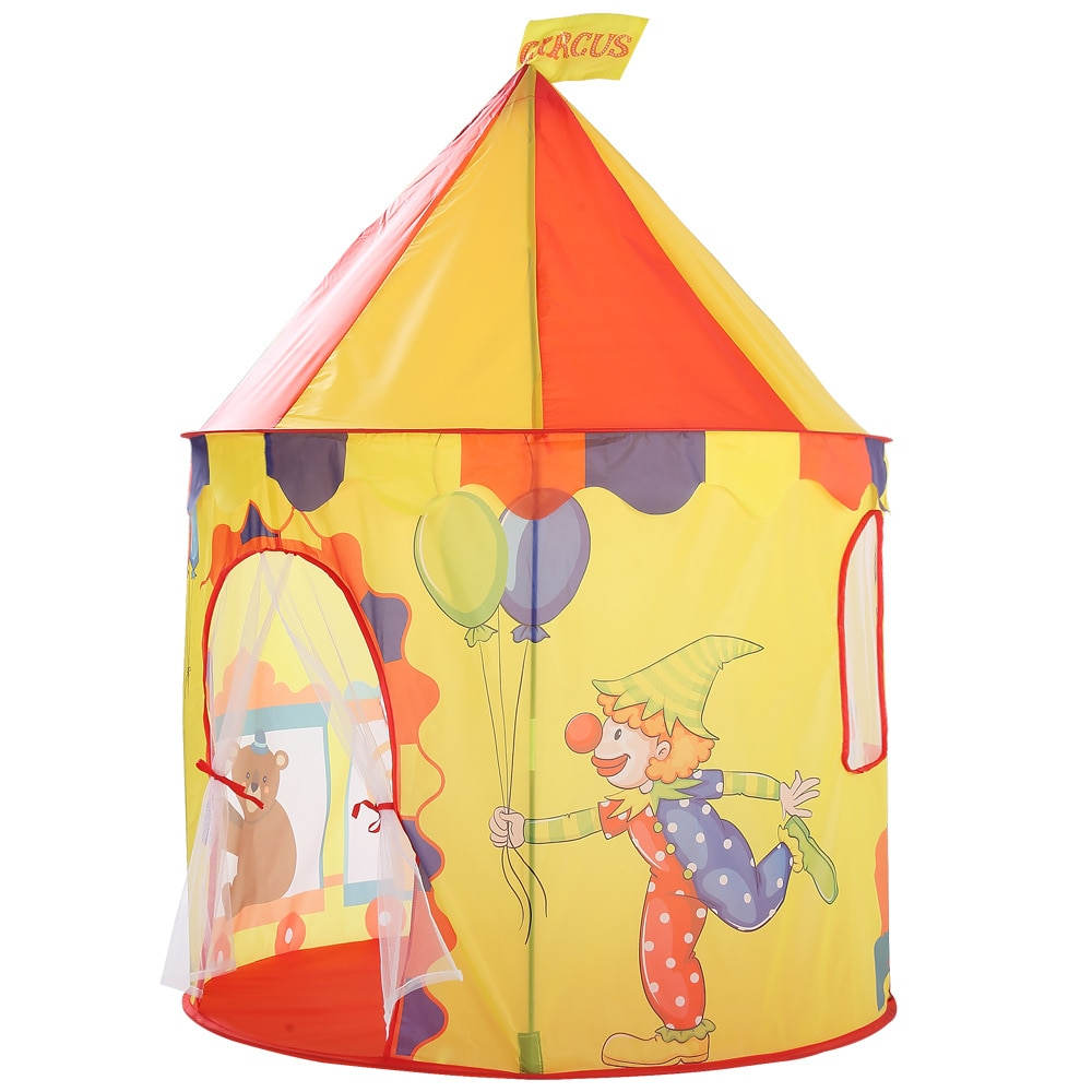 Children Staycation Lovely Animal Tent Kids Indoor Cartoon Game Room Animal Folding Outdoor Bobo Ball Pool Toys