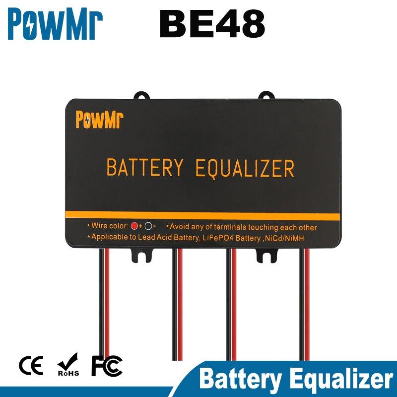 Battery Equalizer For 4PCS 2.4V/3.6V/6V/9V/12V Lead-Acid/Lithium Iron Phosphate/Nickelcadmium Secondary Ni/MH Batteries Balancer