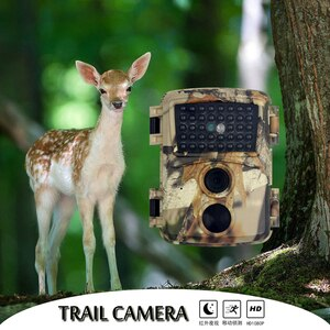 Wildlife Trail Camera 1080P 12MP Infrared Night Vision Hunting Cameras Outdoor Wild Surveillance Tracking