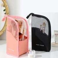 cosmetic tool storage bag ladies hand makeup brush bag portable eyebrow pencil lipstick storage bag