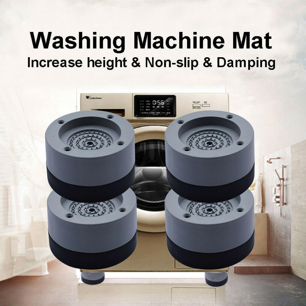 Electrodomésticos tambor lavadora refrigerador Esteras de goma deslizamiento de choque Universal muebles pies estáticas elevación absorción F P3R9