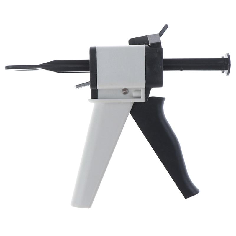 Cuidado Dental impresión Dental dispensación de mezcla dentista producto dispensador pistola de goma de silicona pistola dispensadora 11/12 50ml
