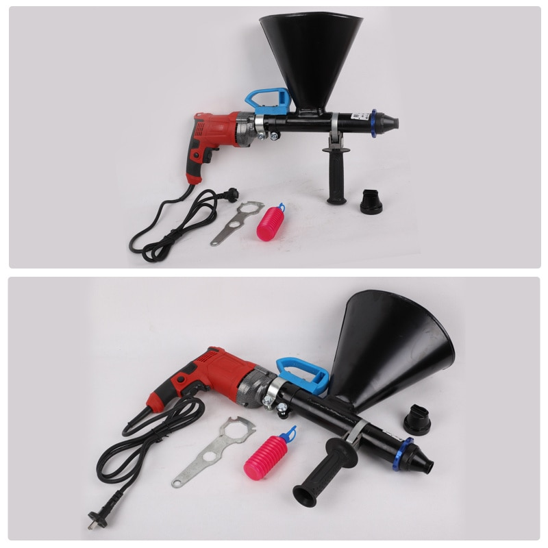 Quick Cement Mortar  Electric Automatic Cement Mortar Filling Gun Grouting Machine Security Doors And Windows Cement Filling Gun enlarge