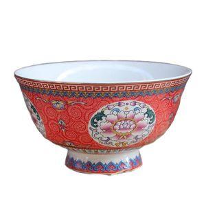 Chinese Old Porcelain Bowl Powder Enamel Porcelain Bowl