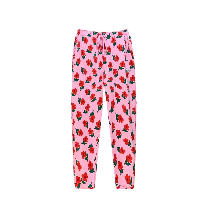 جديد الجدة جولف الوردي الزهور لو فلور تايلر الخالق تجد بعض الوقت CREWNECK سراويل تقليدية Sweatpants رشاقته # C76