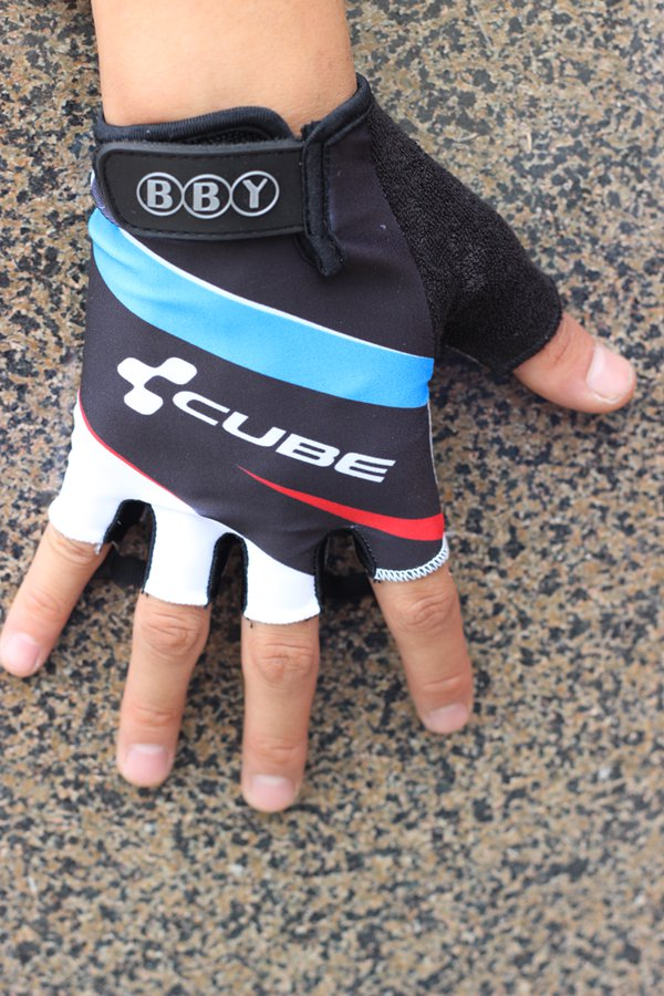 CUBE Unisex Men Women Bike Cycling Gloves Half Finger Bicycle Racing Pro Gloves