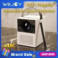 touch projector 4k wejoy y2 mobile mini projector android smart %d1%86%d0%b2%d0%b5%d1%82%d0%bd%d0%be%d0%b9 %d0%bf%d1%80%d0%be%d0%b5%d0%ba%d1%82%d0%be%d1%80 wifi home theatre projetor de cinema video t2