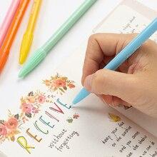 Penna MONAMI Plus 3000 inchiostro a base d'acqua colorazione scritte diario disegno punta in feltro segno penne punta Fine materiale scolastico carino