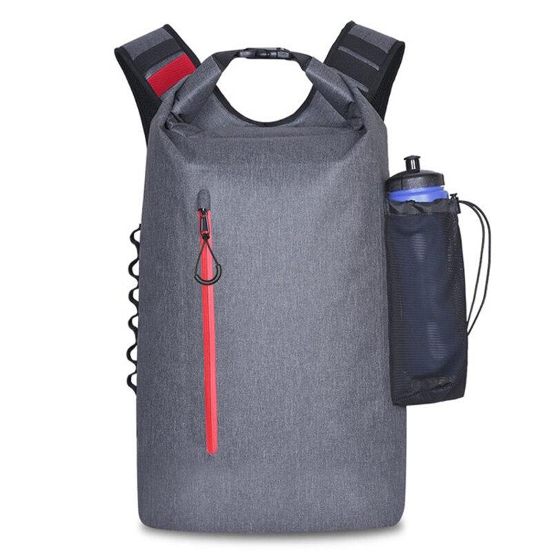 Functional Rafting Waterproof Dry Bag Backpack Outdoor Sport Hiking Tactical Backpacks Trekking Ocean River Camping Swimming Bag