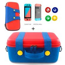 Boîte de rangement EVA pour Nintendo Switch sac de transport Console de jeu NS hôte accessoires Pack accessoires interrupteur accessoires Joycon