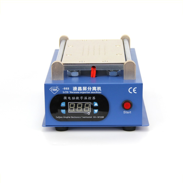 110V/220V 7 Inch LCD Separating Touch Screen Separator Machine TBK-988 For Mobile Phone Repairing manual vacuum separator newest 7 inch lcd separating tbk 988 with built in vacuum pump touch screen separator machine