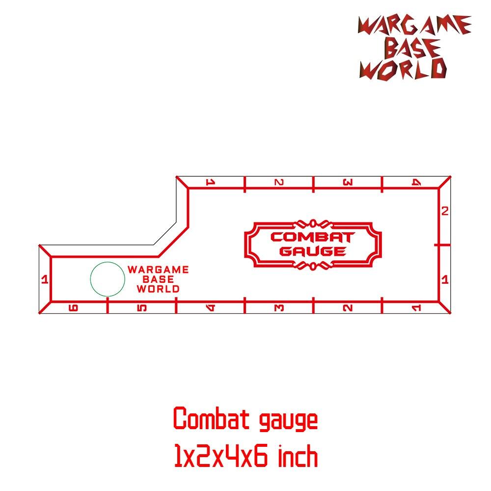 Juego de Base del mundo de combate de medida de Herramientas-batalla de-1x2x4x6