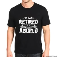 i m not retired i m a professional abuelo mens t shirt
