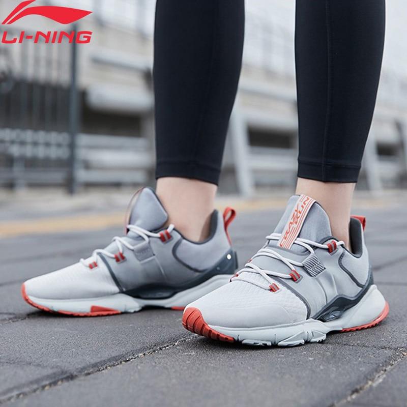 Li-ning hombres CRAZY RUN X Cushion zapatillas de correr forro nube estable TPU soporte Li Ning zapatillas de deporte para hombres ARHQ009 XYP1010