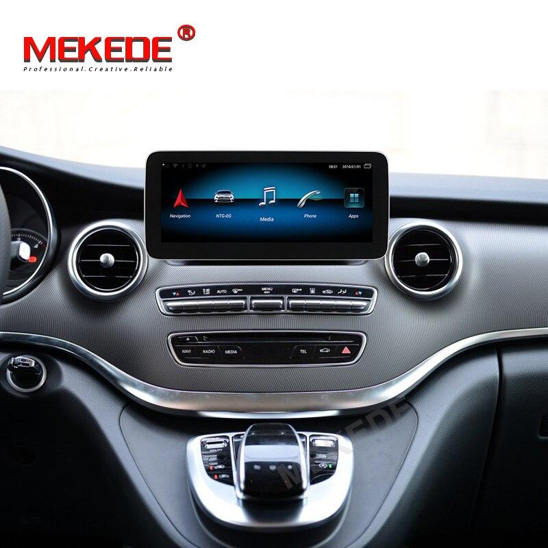 "¡MEKEDE HD nuevo! 4GB RAM 10,25 ""IPS pantalla Android 10 reproductor de dvd de coche para Mercedes Benz W446 clase V 639 C GLC Clase 2014-2018"