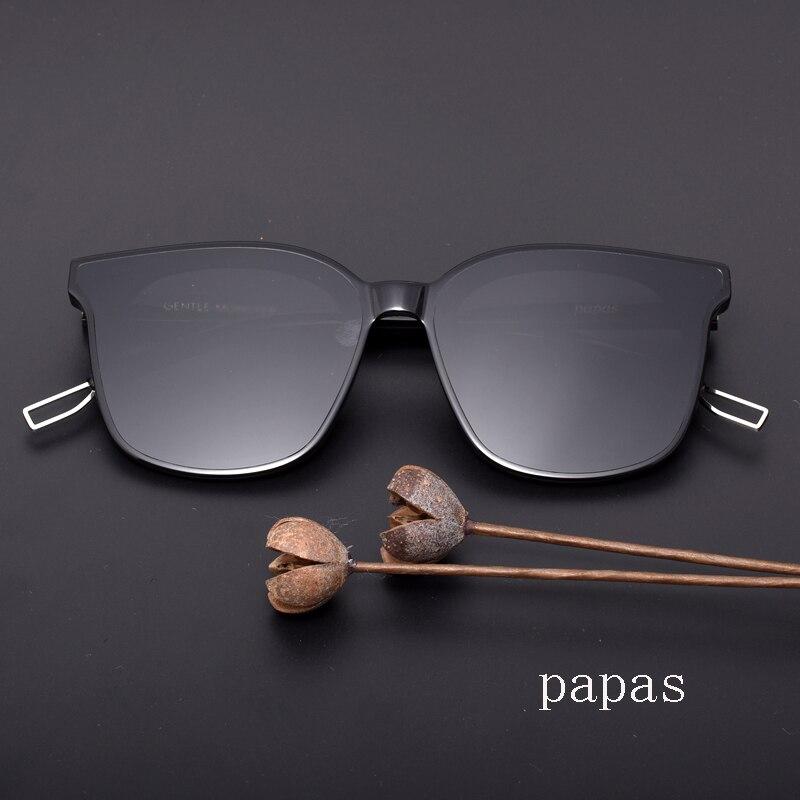 Gentle Papas men women Sunglasses Retro Square Sun Glasses  Men Women  Acetate Polarized UV400  Glasses With Original case