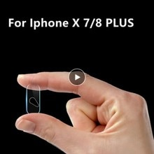 Camera Tempered Glass For Apple IPhone X 7/8 PLUS Screen Protector Lens Film Accessories Mini Lens P