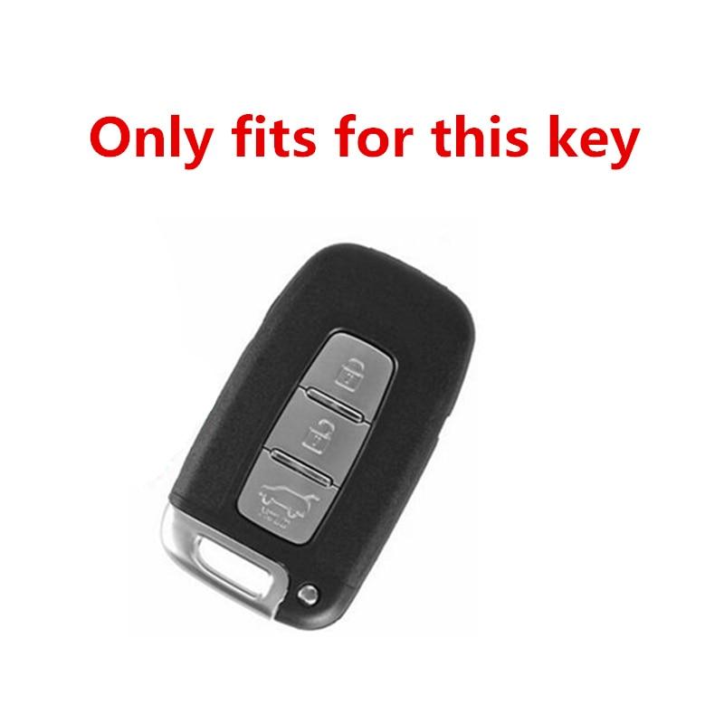 TPU Car Key Case Cover For KIA RIO K2 K3 Sportage For Hyundai Solaris HB20 Veloster SR IX35 Accent Elantra i30 Car Accessories