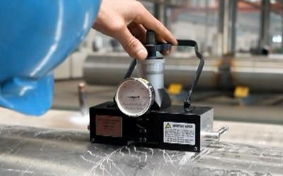 PHR-100 Magnetic Rockwell Hardness Tester enlarge