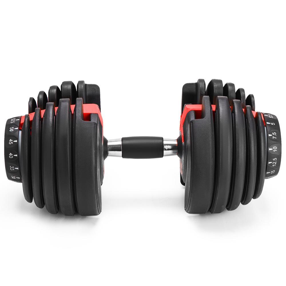 جديد الوزن قابل للتعديل الدمبل اللياقة البدنية التدريبات الدمبل لهجة قوتك وبناء العضلات 5-52.5lbs