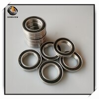 2Pcs 6802 Hybrid Ceramic Bearing 15x24x5 mm ABEC-7 Bicycle Bottom Brackets & Spares 6802RS Si3N4 Ball Bearings