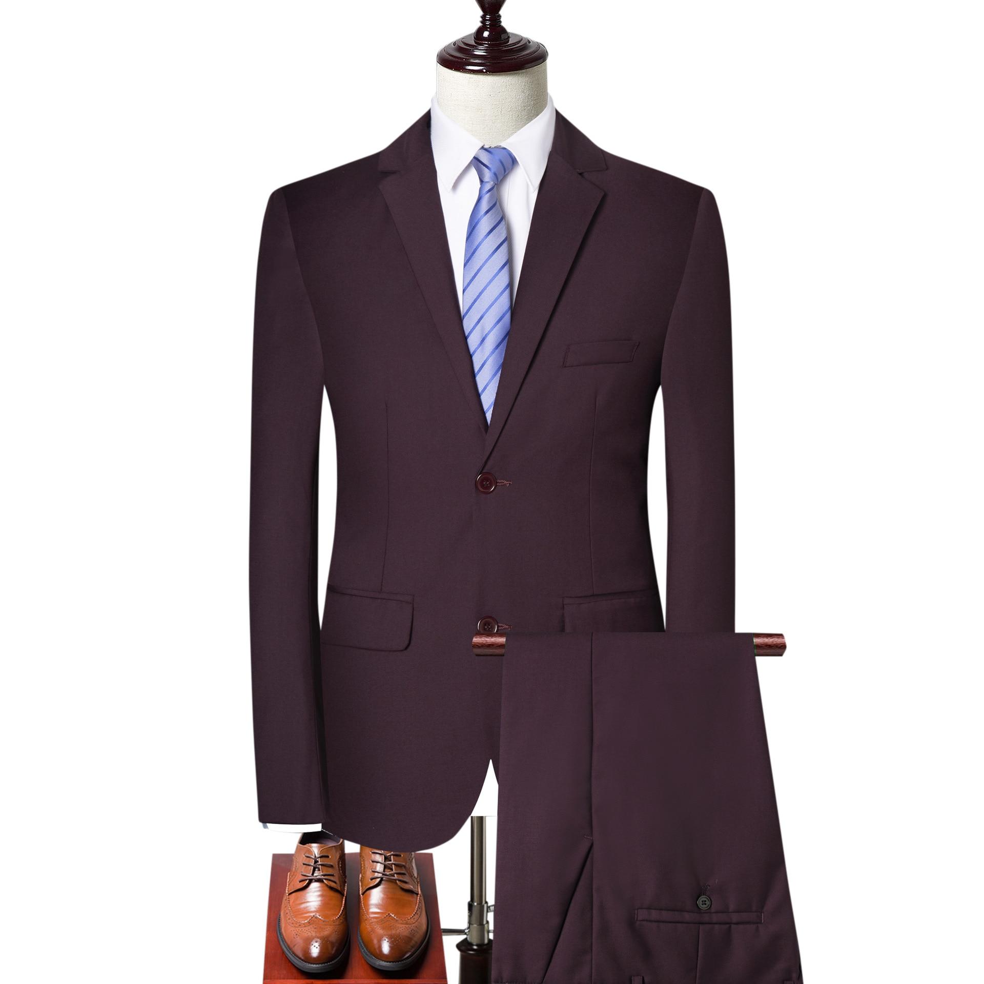 حجم كبير الرجال الموضة للرجال سليم صالح بدلة عمل الرجال موضة 3 قطع رجالي بليزرات البدلات العريس أفضل بدل زفاف 4XL