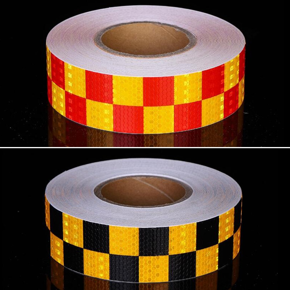 8 pcs set reflective opening sticker access control warning safety car shape car sticker car decoration night light strip 5cmx50m/Roll Reflective Tape Stickers Road Warning Strip Automotive Body Motorcycle Decoration Car Sticker Safety Sticker