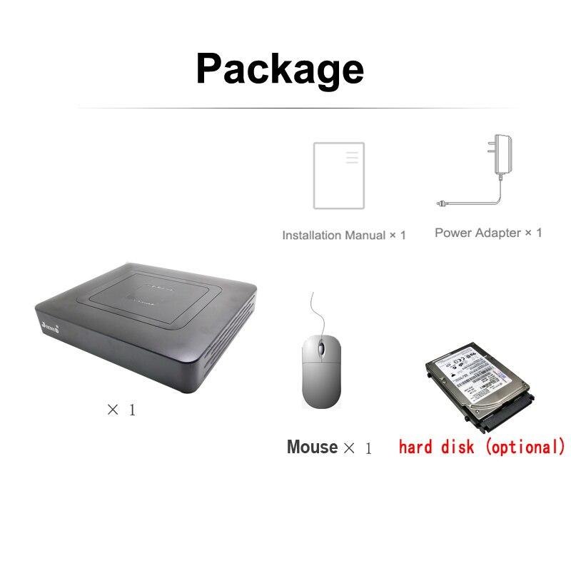 AHD 8CH DVR Mini 1080N CCTV HD Recorder Video Surveillance Security System Hybrid Onvif For IP Camera Analog AHD CVI TVI 1080P