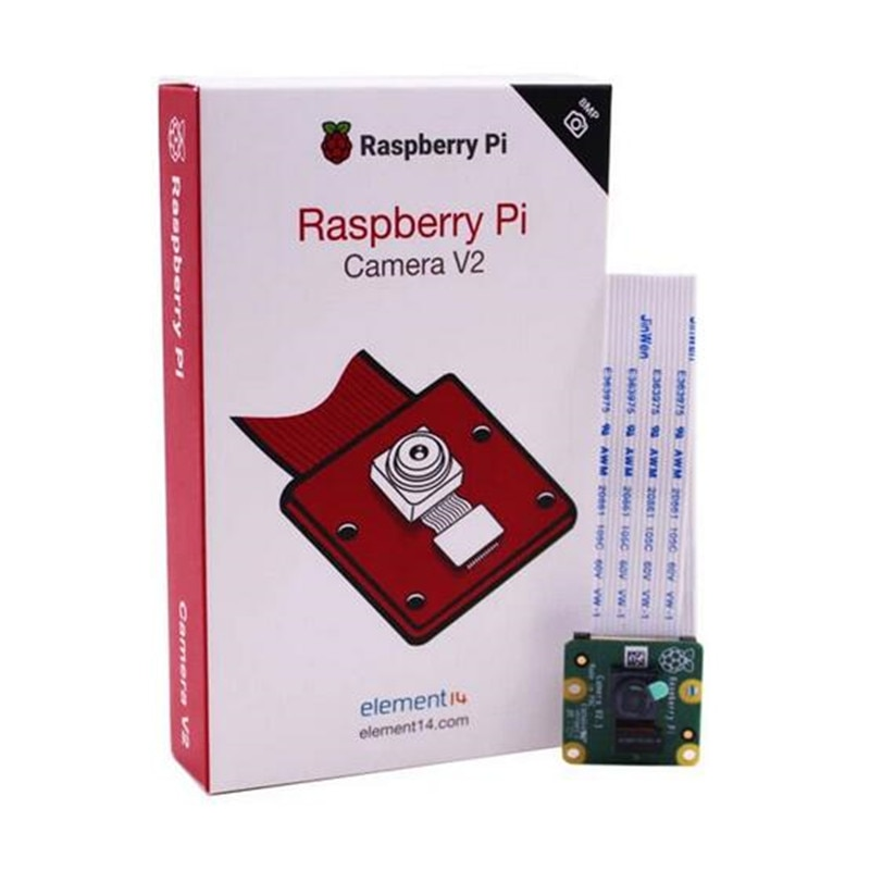 Original Raspberry Pi Cámara V2 módulo Chips sensibles a la luz 8MP píxeles con Sony IMX219 1080P soporte de Video Raspberry Pi 3b +/PI4