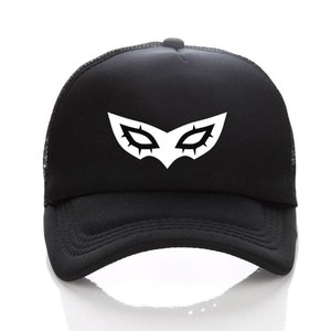 Game Persona 5 hat Printing Baseball Cap Cosplay Hip Hop Unisex Adjustable Summer Fitted Snapback Men's DIY Fitted Hats