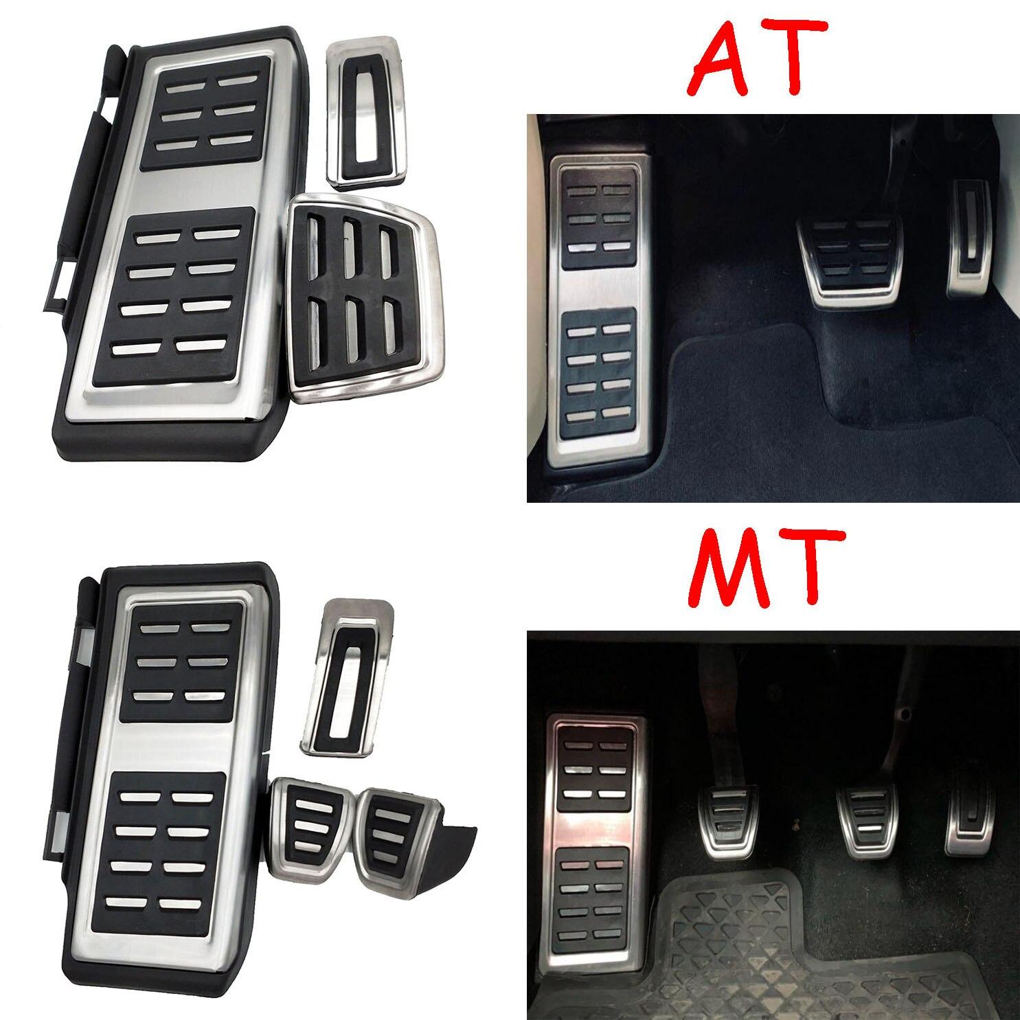 HOT Car Accessories Stainless Steel Pedal For VW GOLF 7 GTi MK7 Lamando POLO A05 Passat B8 Skoda Rapid Octavia 5E 5F A7 2014+