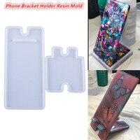 1 комплект держатель для мобильного телефона держатель с украшением в виде кристаллов эпоксидная смола, форма ручной мобильный телефон под...