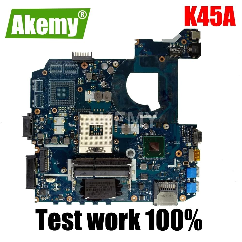 K45A اللوحة QCL40 LA-8221P اللوحة ل Asus K45A K45VD A45V K45VM K45VS A85V اللوحة المحمول K45A اللوحة HD 4000