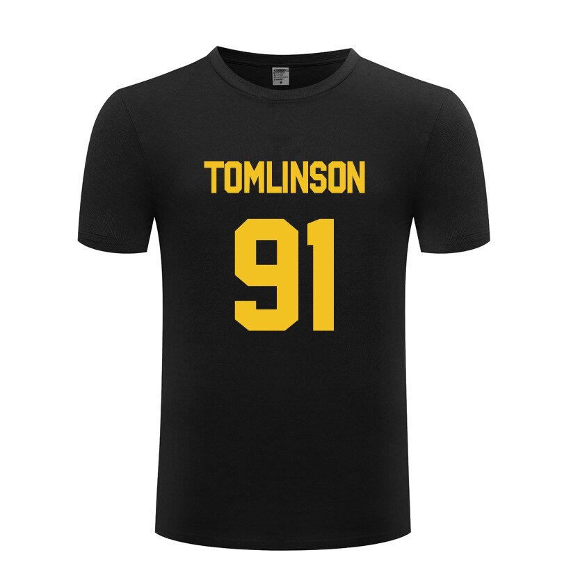 Camiseta de Hip Hop One Direction Louis Tomlinson 91 para hombre, camiseta de manga corta de algodón para hombre