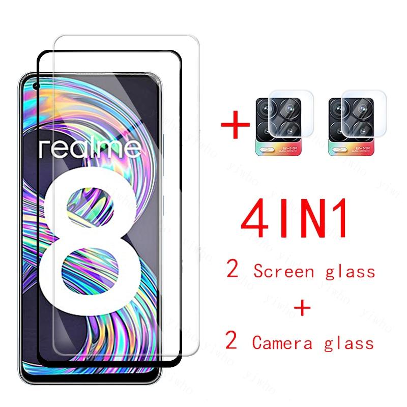 For oppo realme 8 pro Glass camera lens protective Glass realmy realmi 8pro realme8 Tempered Glas sc