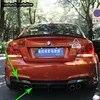 עבור BMW E82 1M שונה סיבי פחמן אחורי גוף ערכת פגוש מפזר 2011 2012 2013